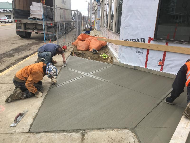 Commercial Concrete Cribbing